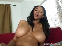 Pornstar Ebony Big Tits Riding Fishnet Dildo Toys Brunette Hardcore