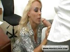cumshot hardcore blonde milf blowjob shaved bigtits pussyfucking