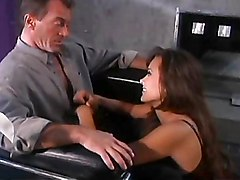 asian  pornstar  long hair  blowjob  beautiful  brunette  piercing  penetration  cock riding  office  cumshot  into mouth  swallow Asia Carrera