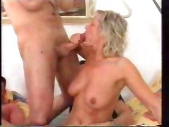 German Mature Granny Swingers Orgy CumMature Group Sex MILF