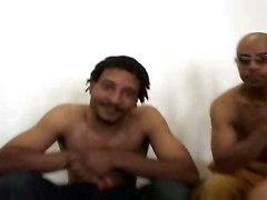 gangbang black dick deep throat fucking cum