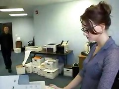 Reality Brunette Glasses Office Pussy Rubbing Panties Teasing Stockings Big Tits Blowjob Double Blowjob Spanking Groupsex Threesome Doggystyle Anal Hardcore Face Fuck Riding Dou