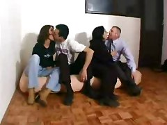 Group Sex Matures Old   Young Russian Swingers