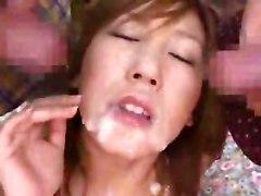 Aya Yuzuki In A Huge Bukkake