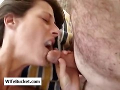 blowjob amateur facial