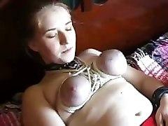 Bizarre Bondage Dildo TitsAmateur Other Fetish Toys Bizarre