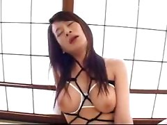 Mature Lady In Rope Lingerie Getting Pussy Licked Fingered Fucked With Toy