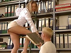 German Very Hot Office Sex  Beautiful Hottie