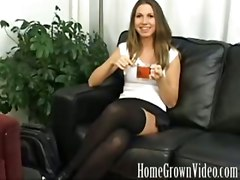 anal milf amateur blowjob brunette small tits audition interview