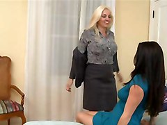 Mature Woman & Young Girl (2)