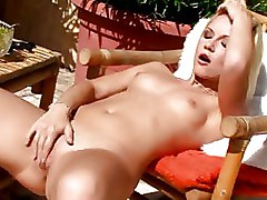 Babes Masturbation Outdoor ass boobs finger