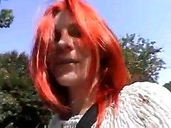 German Masturbation Redheads