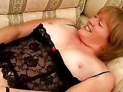 Granny Toys corset riding dick