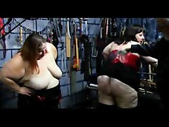 bondage bdsm fetish bbw spanking strapping paddling whipping fat obese group extreme