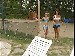 Beach Lesbians Teens