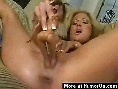 Wild & Crazy Masturbation Blonde Blonde Caucasian Masturbation Shaved Solo Girl Spectacular Vaginal Masturbation