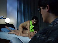 Asian Japanese Asian Black-haired Blowjob Couple Cum Shot Hairy Japanese Masturbation Oral Sex Toys Vaginal Masturbation Vaginal Sex