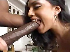 latina interracial blowjob handjob bigcock