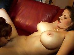 Big Tits Lesbian MILF Big Tits Brunette Caucasian Lesbian Licking Vagina MILF Masturbation Oral Sex Stockings Toys Vaginal Masturbation June Summers Sexy Vanessa