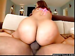 Big Ass Interracial bikini fat ass