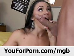 big tits brunette facial milf bubble butt