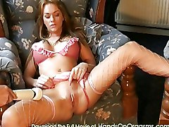 Babes Masturbation Stockings contractions female orgasm orgasmic orgasmus video visible