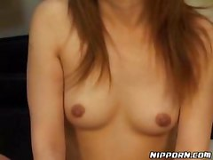 Blindfolded Asian Receives Great Pleasure