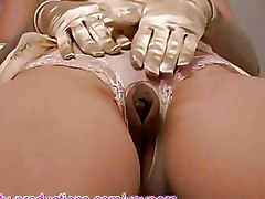 Lingerie Milf clit softcore solo