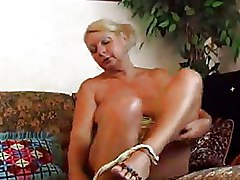 Big Tits Granny Masturbation