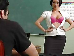 Classroom Teachers boobs brunettes milf