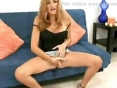 blonde milf squirting masturbation solo