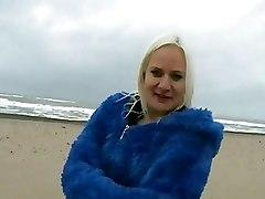 Public Beach Babe