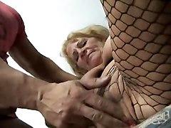 Grannies Stockings Tits