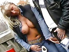 Big Tits Milf Outdoor
