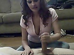 Girlfriends Handjobs amateur homemade