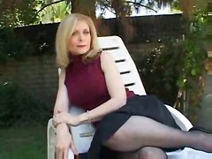 deepthroat face fuck gagging handjob blowjob riding doggystyle cumshot blonde pornstar pov stockings lingerie outdoor big tits milf mature