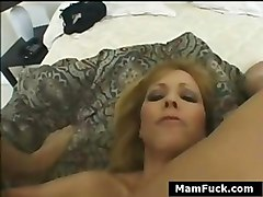 Mother And Daughter Lay On Each Other To Get Fucked By Big Dick