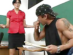 Blowjobs Doggy Style Glasses Riding Teachers