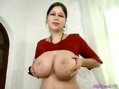 tits breasts babe squizing boobs melons busty