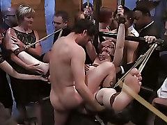 BDSM Blowjob Humiliation Public Sucking Torture bondage pussy torture