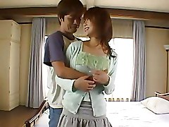 Bedroom Hairy Japanese breasts hardcore