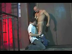 bald prison blolwjob oral analsex son analfucking oralsex anal analfuck daddy gay dad
