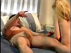 Blonde Blonde Blowjob Caucasian Couple Cum Shot Deepthroat Oral Sex Skinny Small Tits Vaginal Sex