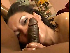 black interracial oiled blowjob riding tattoo ebony analbeads ass fucking