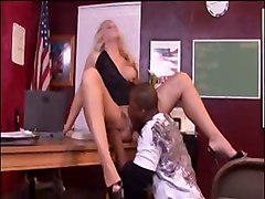 Babes Blondes Interracial
