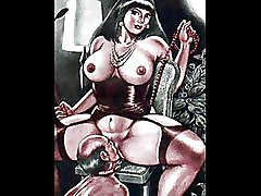 BDSM Art Cartoons Drawings