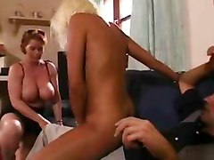 Hardcore Old + Young Threesomes