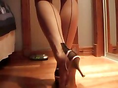 Lingerie Stockings Upskirts
