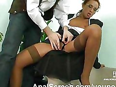 Anal Office Stockings