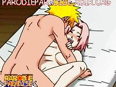 Naruto Fucks Shizune & Sakura